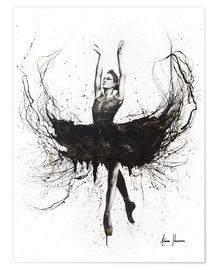 Premium poster  The black swan - Ashvin Harrison