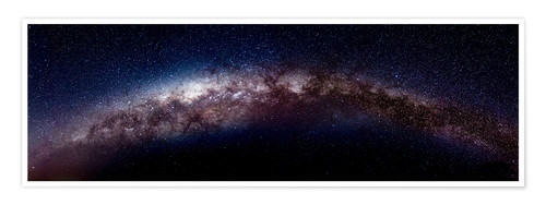 Premium poster The vastness of the milky way