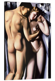 Alu-Dibond  Adam and Eve  - Tamara de Lempicka