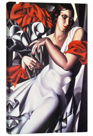 Canvas print  Portrait of Ira P. - Tamara de Lempicka