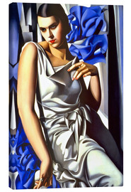 Canvas print  Portrait of Mrs. M. - Tamara de Lempicka