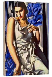 Wood  Portrait of Mrs. M - Tamara de Lempicka