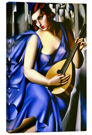 Canvas print  The musician - Tamara de Lempicka