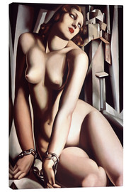 Canvas print  The slave - Tamara de Lempicka