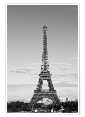 Premium poster Eiffel Tower PARIS IX
